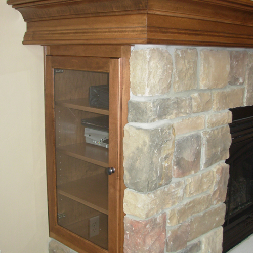 Cabinets And Fireplace Surrounds