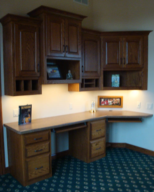 Lastest Custom Home Office Cabinet Design Installed By Kitchen AZ Cabinets