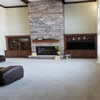 Living Rooms Cabinets and Fireplace Mantels