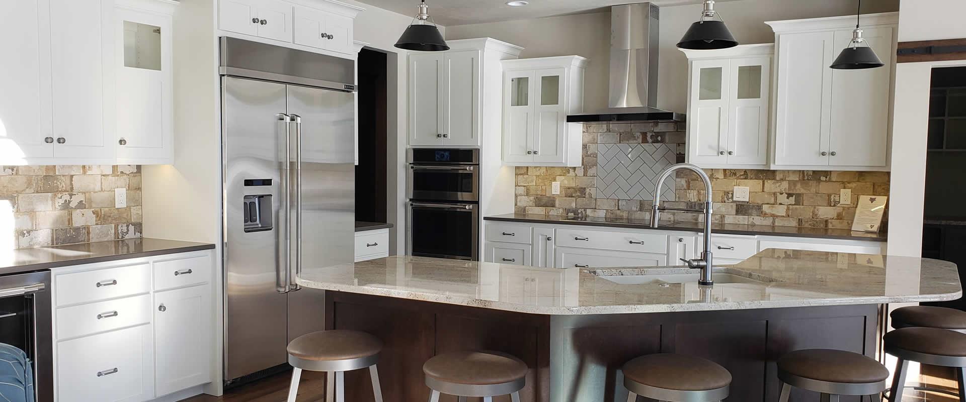 Custom Cabinets Kitchen Bathroom Leton Green Bay Wisconsin